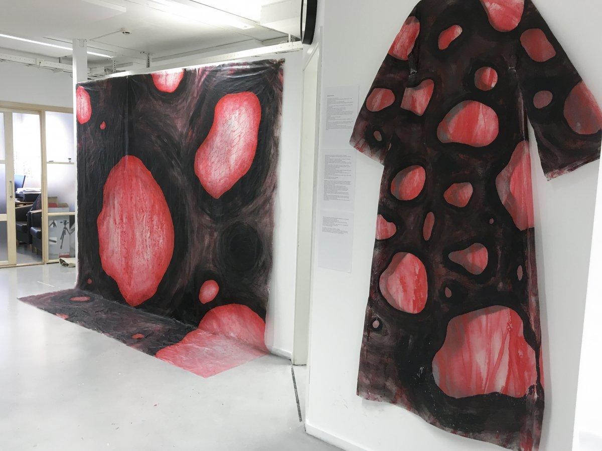Studentarbeid, monumentalmaleri